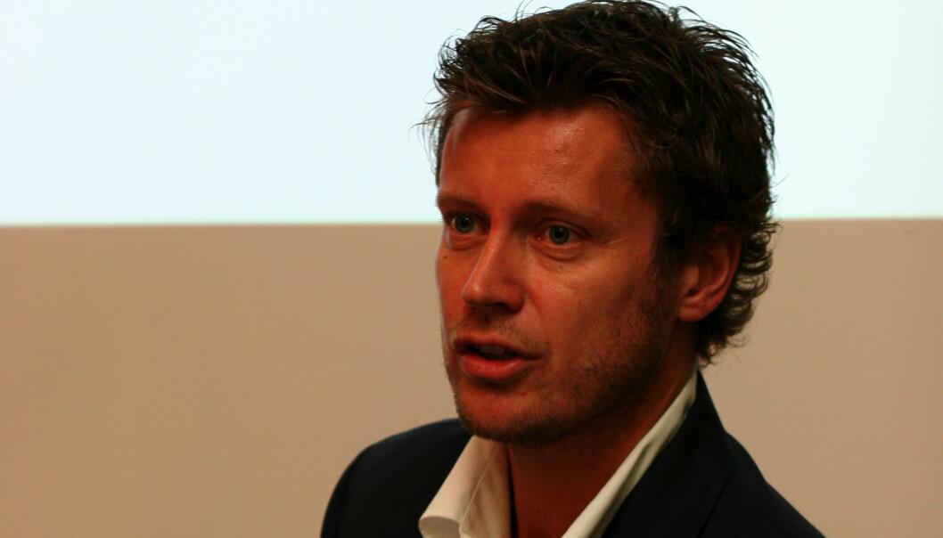 P4-sjef Trygve Rønningen. Foto: Birgit Dannenberg