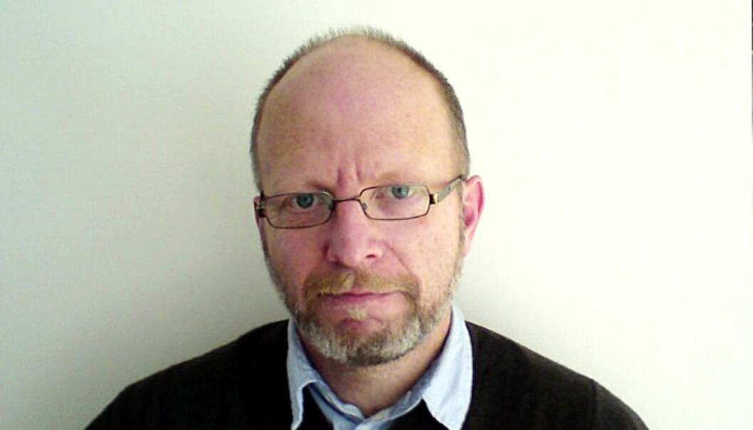 Geir Selvik Malthe-Sørenssen. Bildet ble tatt i forbindelse med boklanseringen i 2010. Foto: Kathrine Geard