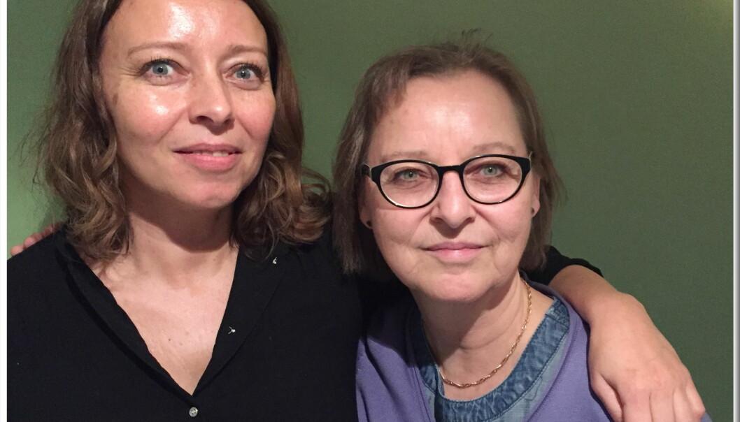 Sonja Nordanger (t.v.) tar over som leder av redaksjonsklubben i Aller Media etter Tone Rudberg, som har styrt klubben og dens medlemmer gjennom noen av de verste nedbemanningstiltakene i norsk mediebransje. Foto: Svend Aage Madsen, Se og Hør