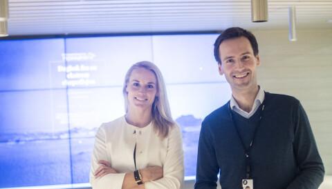 b0f1f80e Kommersiell leder Oddrun Cecilie Svegaarden og innholdssjef Lars Magne  Sunnanå. Foto: Aftenposten
