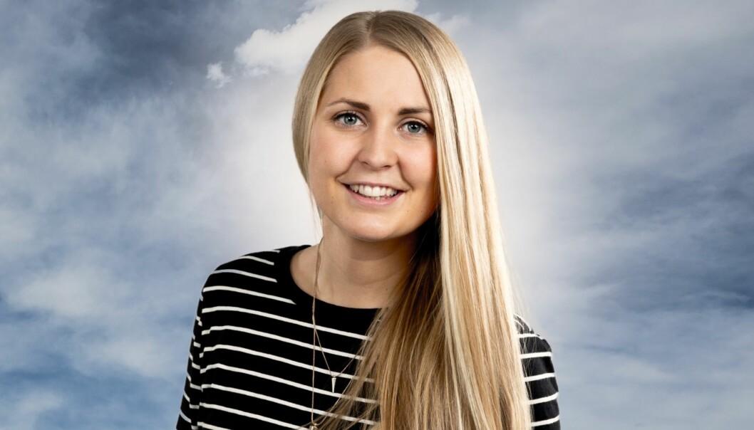 Silje Nordnes. Foto: Kim Erlandsen/NRK.