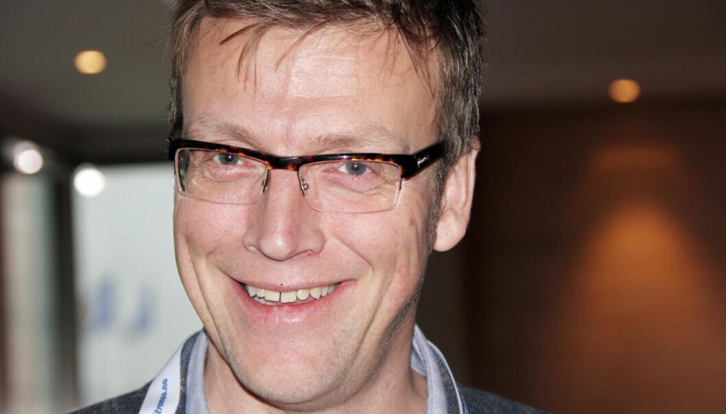 Distriktsredaktør Morten Ruud i NRK Finnmark forlanger bedre tilgang for mediene til asylsentre. Foto: Dan Robert Larsen, NRK