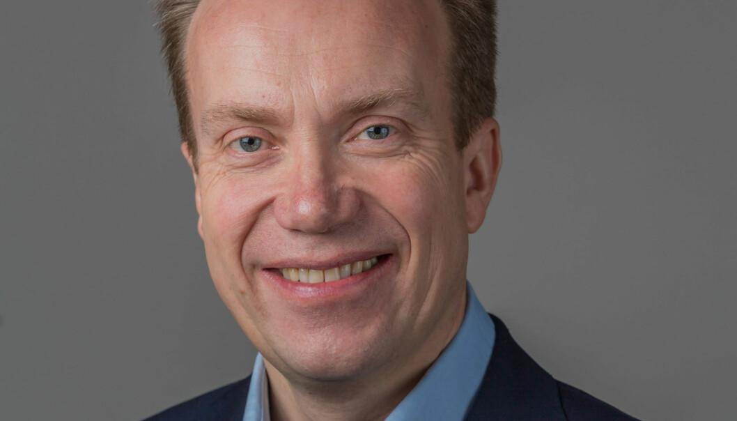 På grunn av møte i USA måtte utenriksminister Brende droppe Hellkonferansen i år. Foto: Hans Kristian Torbjørnsen, Høyre