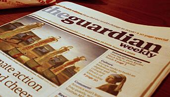 LES OGSÅ: Guardian-eier sikter mot nullresultat neste år