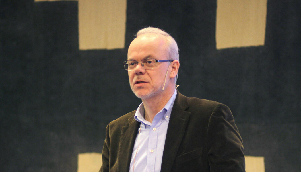 Det presses på for at Google, her ved Norgessjef Jan Grønbech, skal betale skatt. Foto: Glenn Slydal Johansen