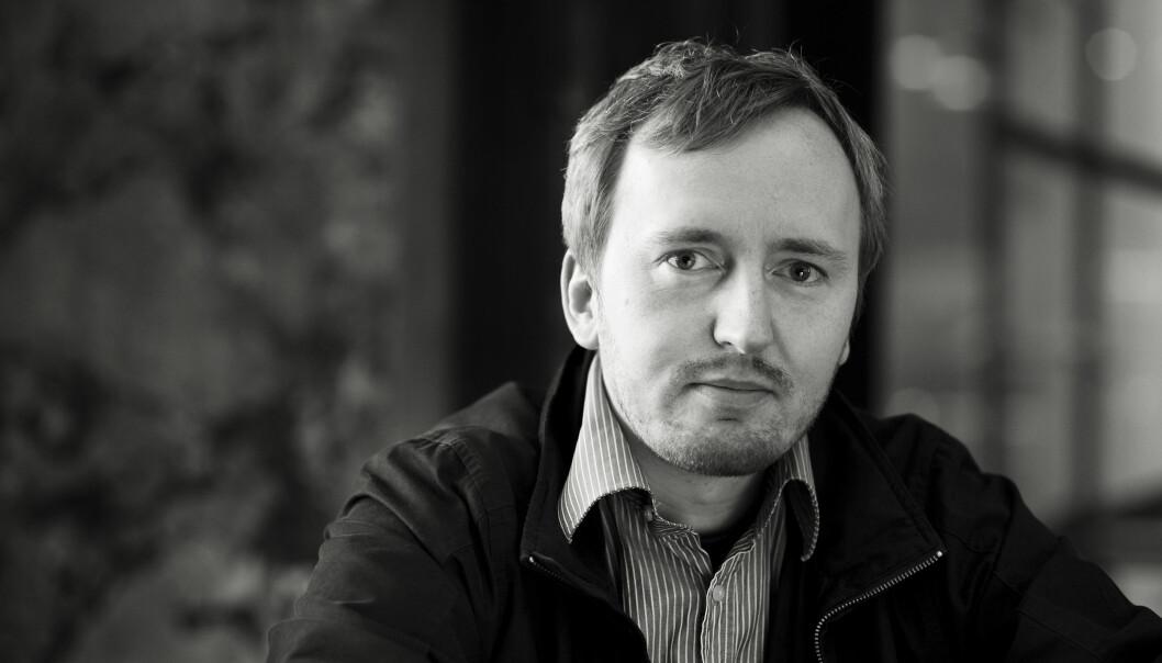 Rune Berglund Steen, leder i Antirasistisk senter. Foto: Finn Ståle Felberg