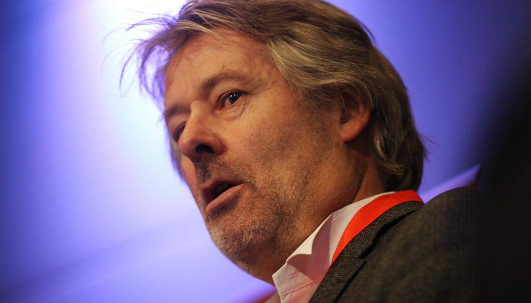 Ingen har klaget på innholdet, sier Torry Pedersen. Foto: Martin Huseby Jensen