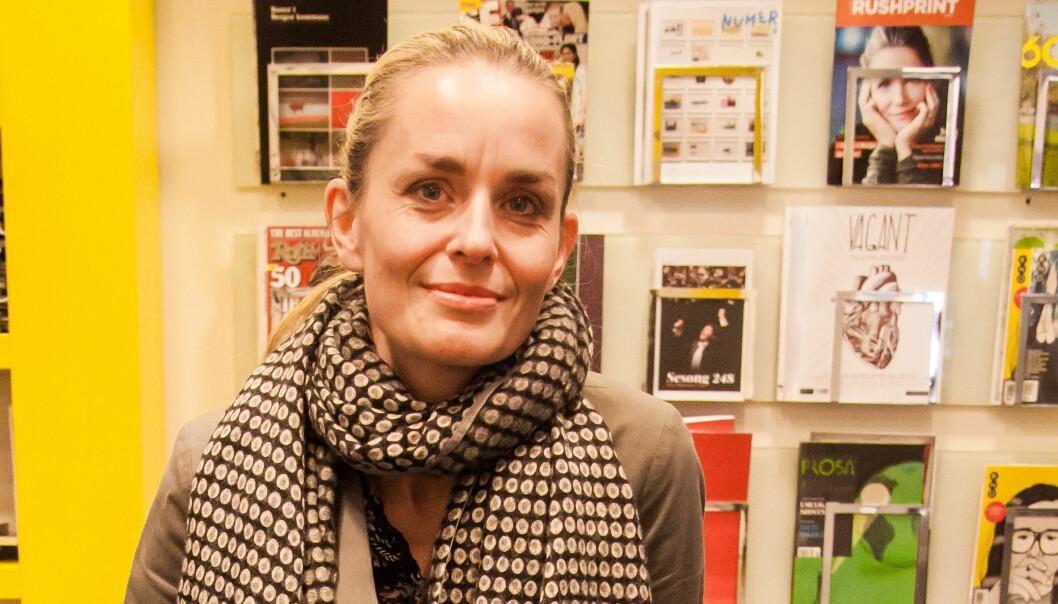 Hilde Sandvik har et år på å dra i gang sitt nye prosjekt. Arkivfoto: Kathrine Geard.