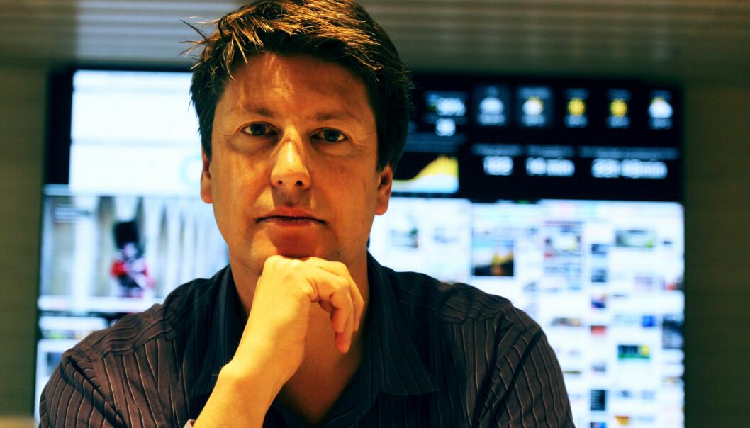 Håkon Borud har meldt overgang til kommunikasjonsbransjen. Foto: Martin Huseby Jensen