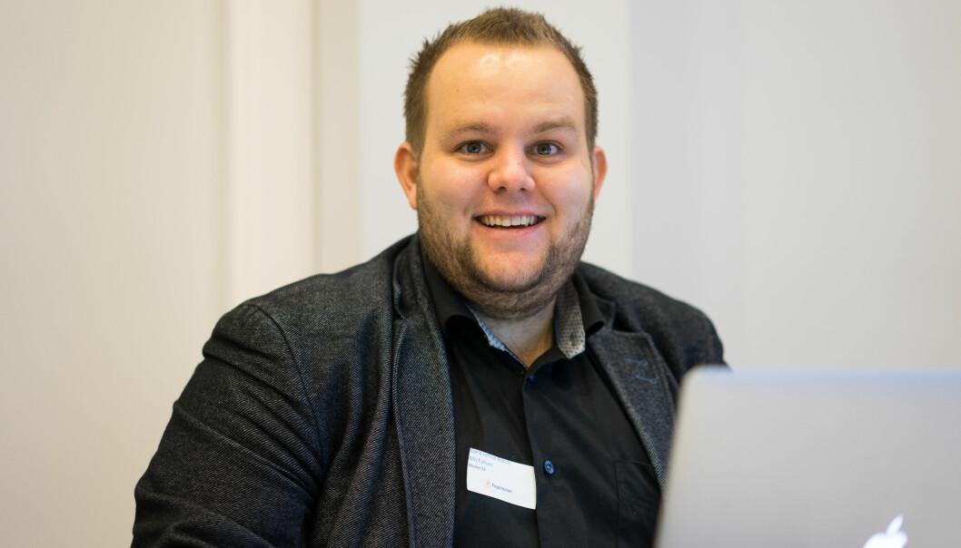 Gard L. Michalsen går fra Medier24 til E24. Foto: Helge Øgrim