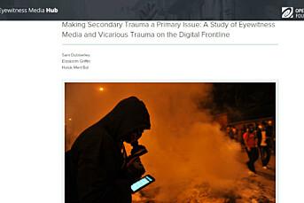 Journalister får traumer av voldelige nyheter