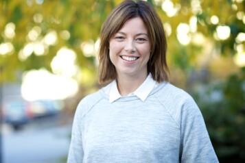 Organisasjons - og kommunikasjonsdirektør i TV2, Sarah Willand. Foto: Alex Iversen, TV 2.