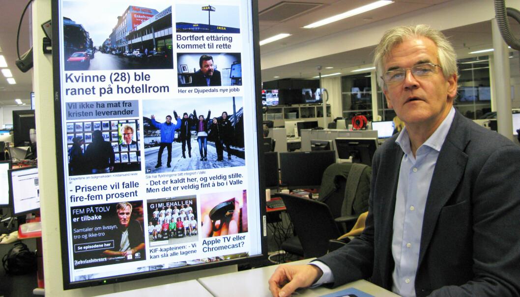 PFU-leder Alf Bjarne Johnsen har irritert seg over medienes bruk av sitatstrek helt siden 90-tallet. Nå ønsker han og PFU en innskjerping. Foto: Bjørn Åge Mossin