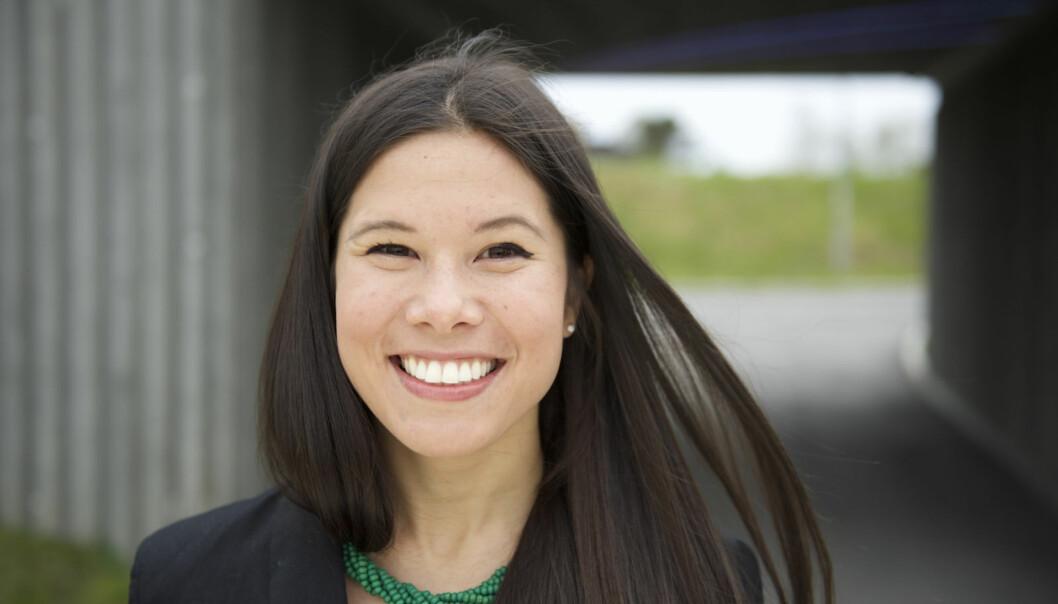 Miljøprartiet De Grønnes Lan Marie Nguyen Berg var den politikeren som ble googlet mest i Norge i 2015. Foto: MDG.