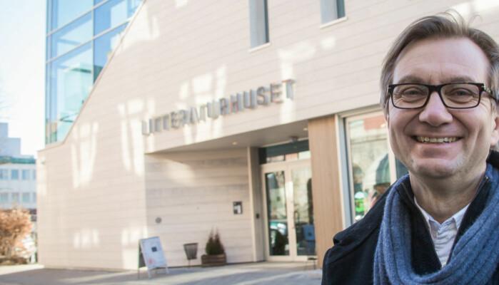 Trygve Aas Olsen ved Institutt for journalistikk i Fredrikstad.