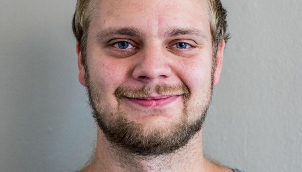 Nyhetssjef Mímir Kristjánsson i Klassekampen. Foto: Klassekampen.