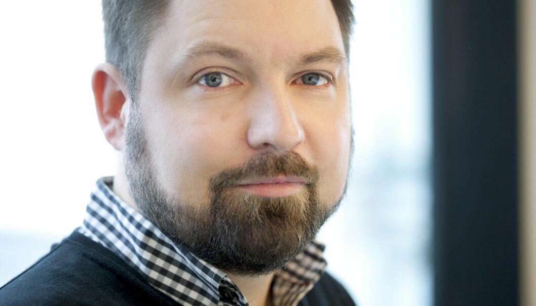 Audun Giske gleder seg til den nye jobben som digital direktør i Egmont Publishing. Foto: Microsoft