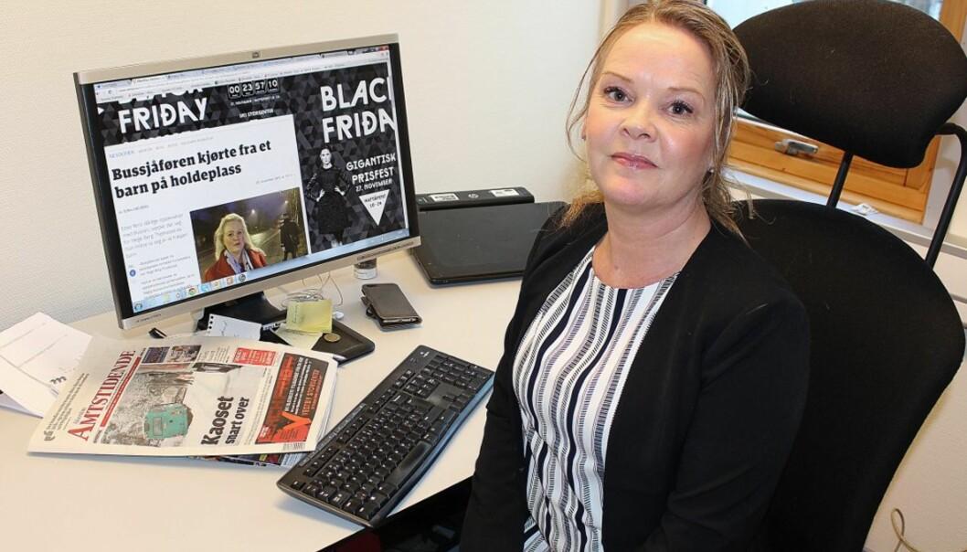 Felicia Øystå. Foto: Mariann Leines Dahle