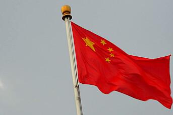 Kina stanser liberalt tidsskrift