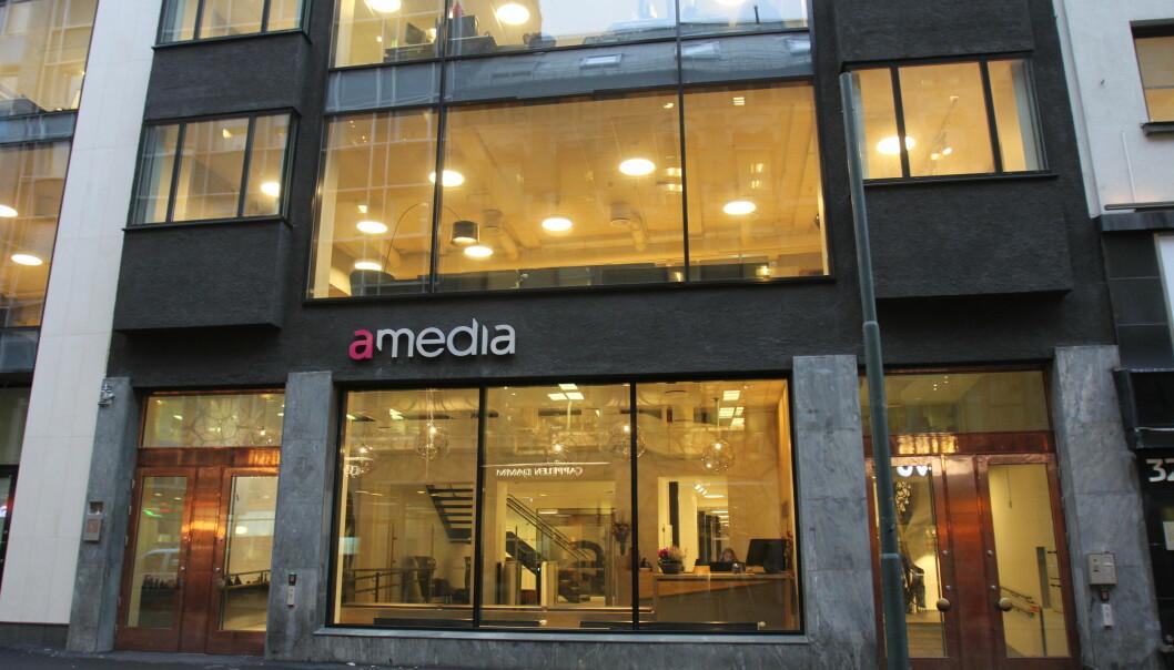 Amedias nye lokaler i Akersgata 34/36. Foto: Glenn Slydal Johansen