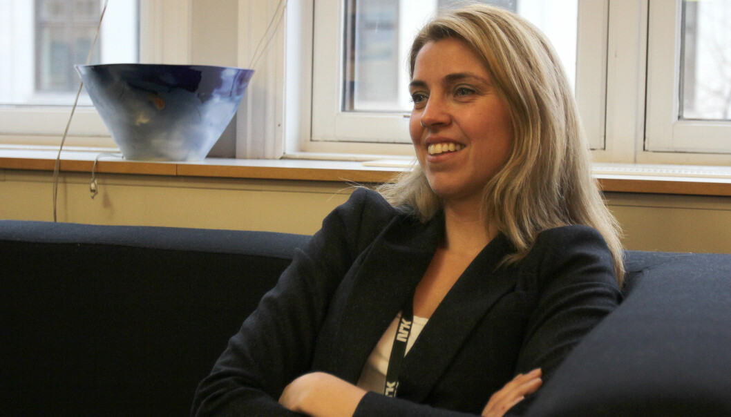 Nyhetsdirektør Alexandra Beverfjord i NRK. Arkivfoto: Glenn Slydal Johansen