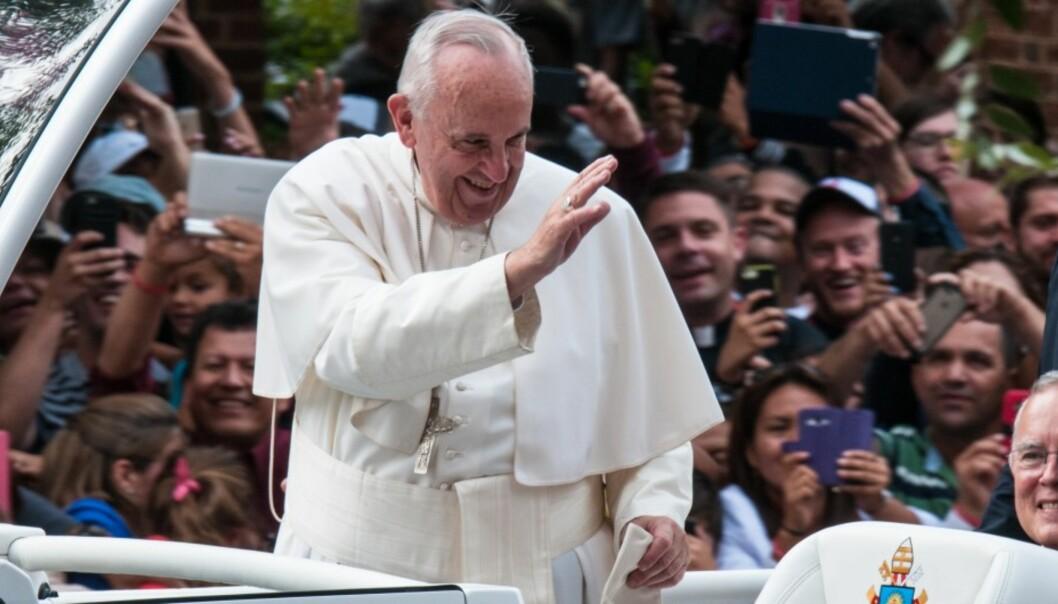 Er Pave Frans bekymret for dagens mediesituasjon? Foto: Flickr.com/Creative Commons/michael_swan