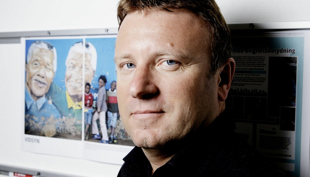 GODE TIDER: Sjefredaktør Vebjørn Selbekk kan glede seg over at den kristne avisa Dagen både vokser i opplag og leverer millionoverskudd. FOTO: PAUL S. AMUNDSEN