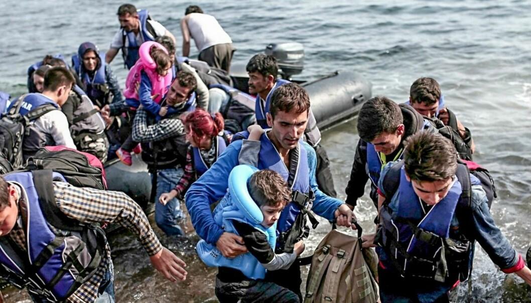 De som formidler nyhetene om flyktningkrisen i Europa er mindre fornøyd enn publikum med det som publiseres. Foto: Flickr.com/Creative Commons/Freedom House