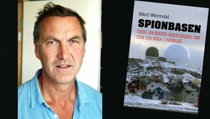 Bård Wormdal har fulgt etterretningsinstallasjonene i Finnmark tett, og blant annet skrevet boka «Spionbasen». Foto: Knut Sverre Horn og Norske Serier