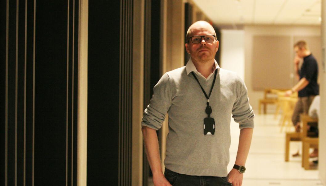 Gard Steiro i VG er godt fornøyd med resultatet, og ikke minst at det dro inn priser. Foto: Martin Huseby Jensen
