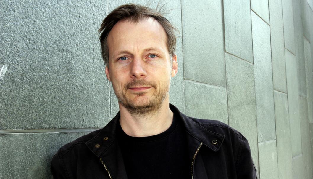 Steen Stensen, instituttleder for journalistikk på Oslomet, mener tallene fra USA er dramatiske. Foto: Birgit Dannenberg