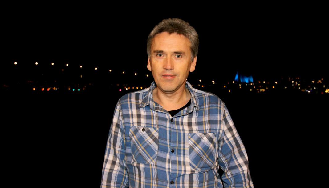 Redaktør Thomas Nilsen i The Barents Observerer forteller at de blant annet har med seg en ekspert på lingvistikk i retten i dag. Arkivfoto: Glenn Slydal Johansen