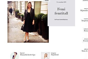 Vanessa Rudjord stjal bilder til bloggen sin. Kastet ut av bloggpris
