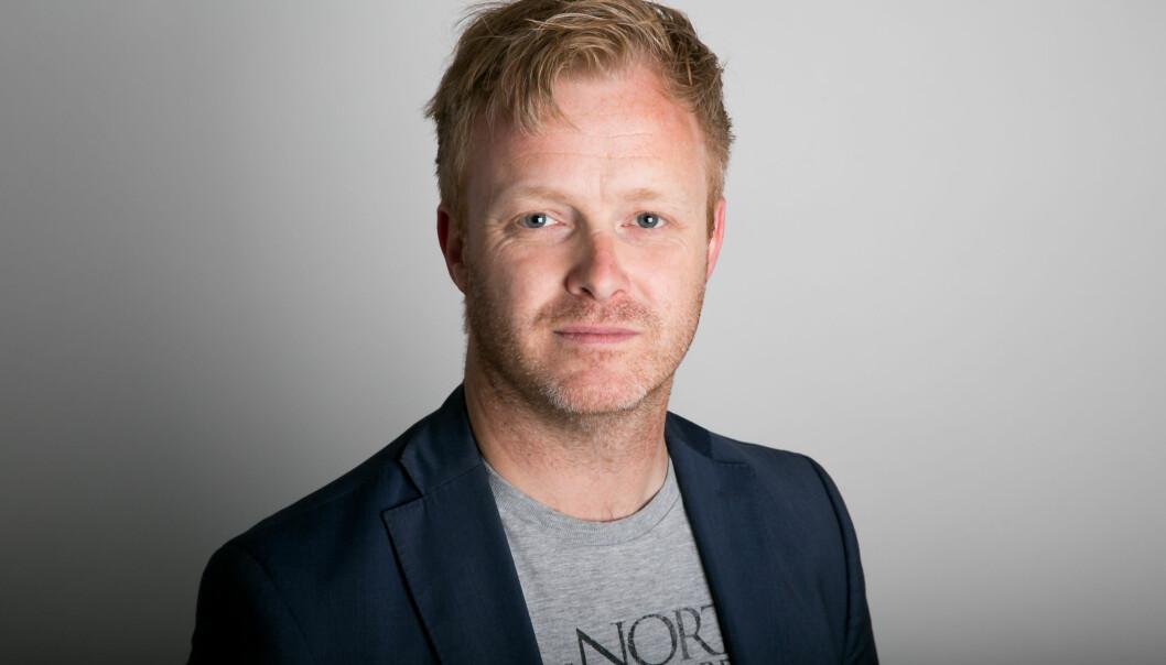 Pål Nisja-Wilhelmsen, direktør for forretningsutvikling og innovasjon i Nettavisen. Foto: Paul Weaver/nabilder.no