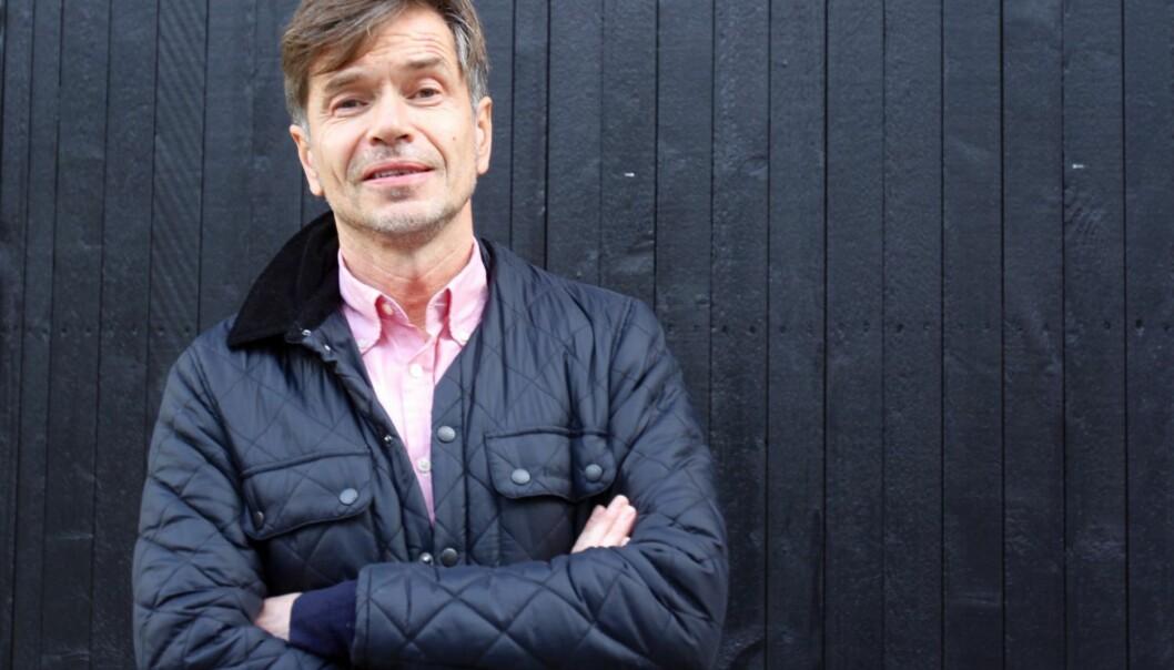 Kjetil Rolness på Redaktørforeningens høstmøte. Foto: Aslaug Olette Klausen.