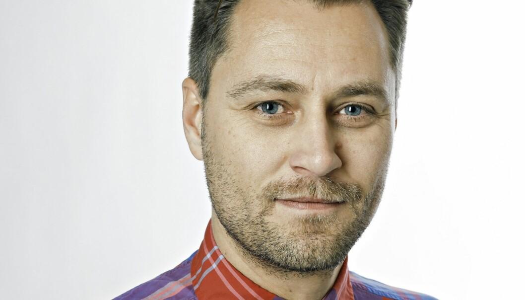 Frank Lynum er leder av redaksjonsklubben i Aftenposten. Foto: Signe Dons