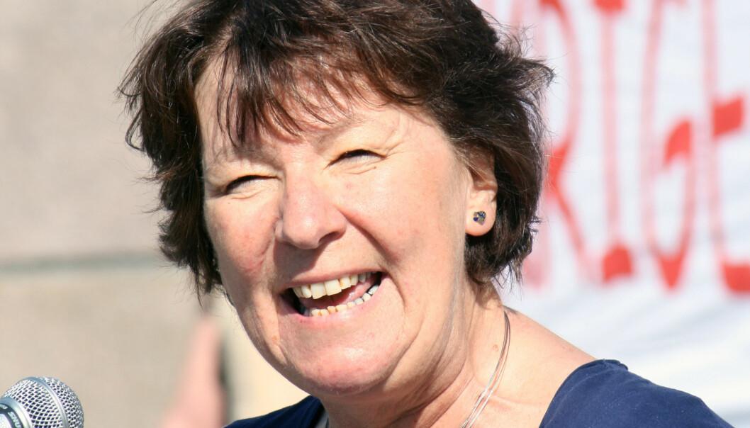 Ordfører Marianne Borgen i Oslo. Her under en appell i 2011. Foto: GGAADD/Flickr.com