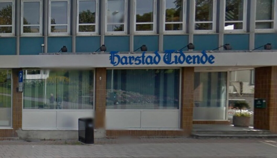 Harstad Tidende Gruppen skifter navn, men ikke avisa. Foto: Google Maps