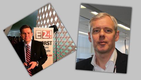 cf81c895 Marius Lorentzen (til venstre) har store eierinteresser i matindustrien.  Ansvarlig redaktør Per Valebrokk