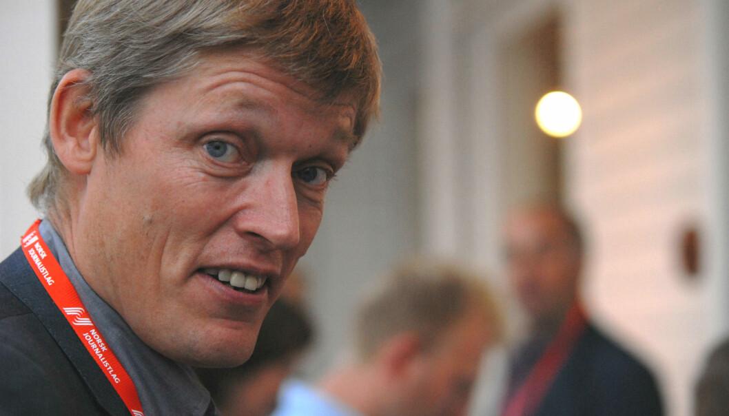 Jens Barland slår fast at studien han har gjennomført sammen med Ragnhild Kr. Olsen ikke konkluderer og ikke kan brukes som statistikk, men likevel gir noen antydninger. Foto: Martin Huseby Jensen.