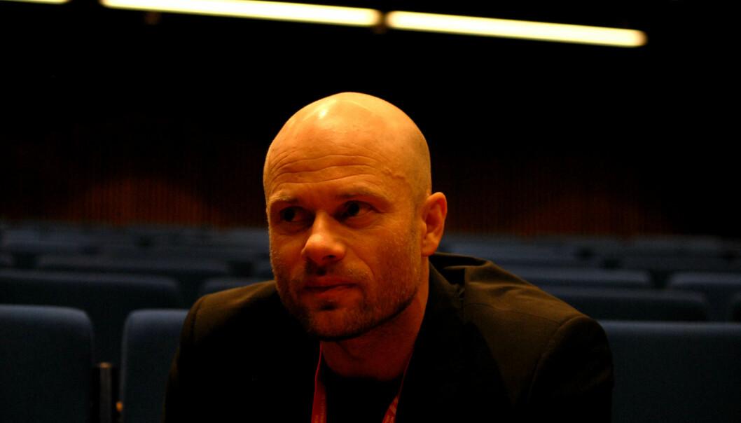 Leder i Akershus Journalistlag Thomas Frigård. Foto: Martin Huseby Jensen