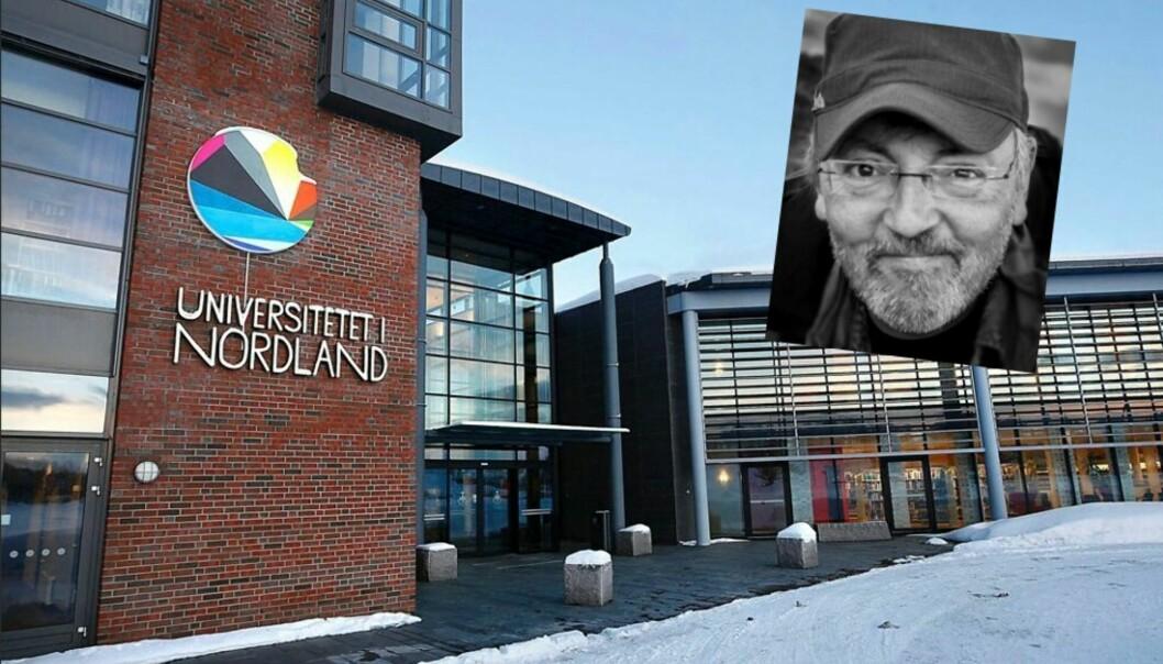 Rune Nilsen kommenterer at Anki Gerhardsen blir funnet for lett til å undervise ved journalistutdanninga ved Universitetet i Nordland. Foto: UiN