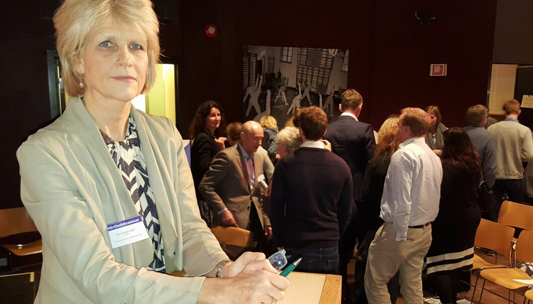 Siri Gedde-Dahl er journalist i Kapital, har tidligere lang erfaring fra Aftenposten og er leder for Norsk Presseforbunds offentlighetsutvalg. Foto: Bjørn Åge Mossin
