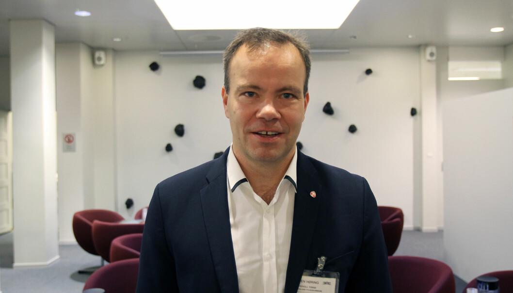 Tomas Norvoll, leder for representantskapet i Barentssekretariatet og fylkesrådsleder i Nordland fylkeskommune. Foto: Glenn Slydal Johansen