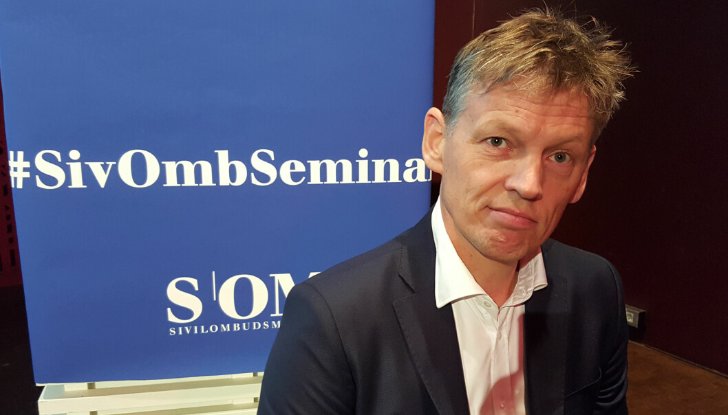 Aage Thor Falkanger. Foto: Bjørn Åge Mossin