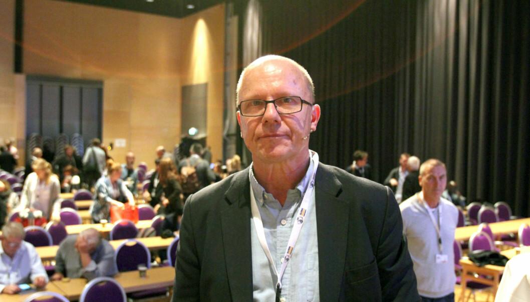 Redaktør Nils Hanson i Uppdrag Granskning. Foto: Glenn Slydal Johansen