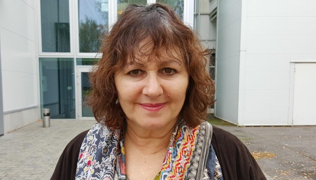 """- Jeg er ikke journalist, men filmskaper, sier Leslee Udwin, kvinnen bak """"Indias datter"""". Foto: Bjørn Åge Mossin"""