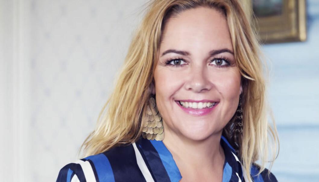 Konserndirektør Ingrid Skogrand i Aller Media sier de må følge brukerne. Foto: Aller.
