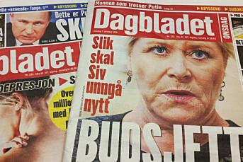Dagbladets papirutgave har fått ansiktsløft og produseres nå bare på ett skift