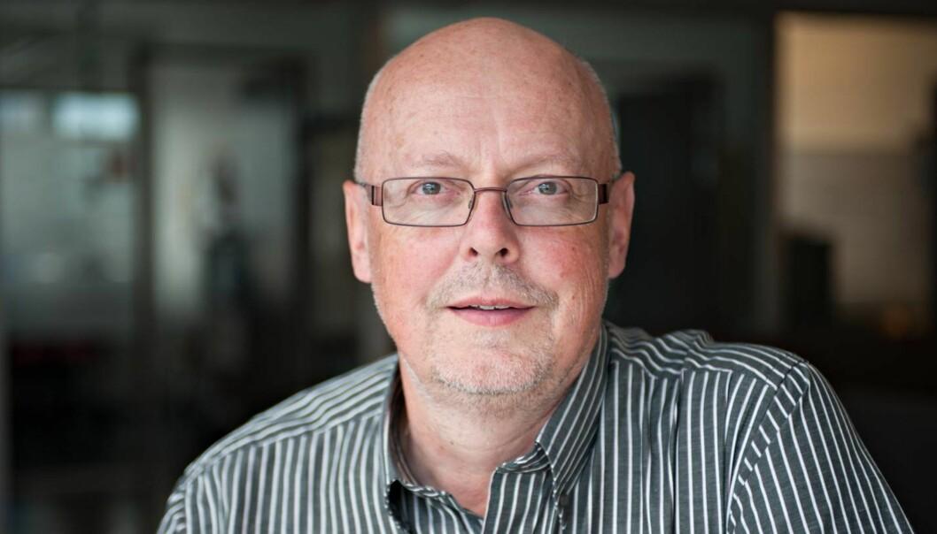Kommunikasjonssjef i Utlendingsnemnda, Bjørn Lyster svarer på kritikken fra Sven Egil Omdal. Foto. UNE